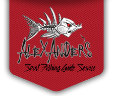 Alexander's Sport Fishing Guide Service logo