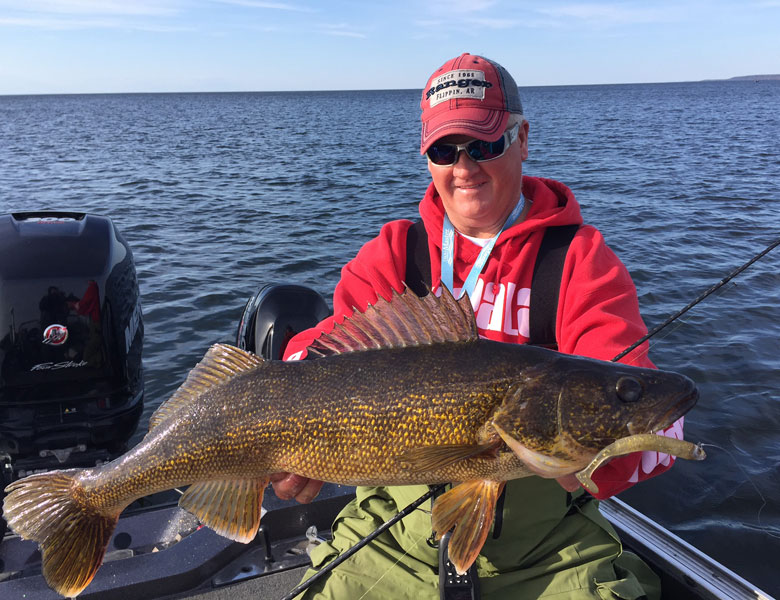 walleye fishing guide pictures green bay