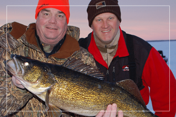 green bay fishing guide bret alexander with fish