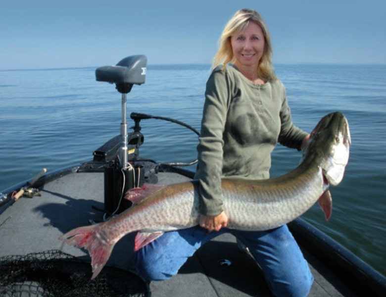monster musky fishing guide green bay