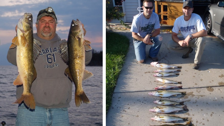 green bay wi top walleye fishing guide