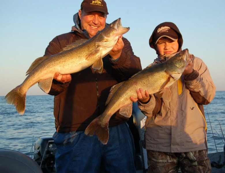 monster green bay walleyes with bret alexander