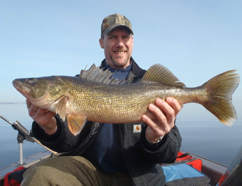 best walleye fishing guide green bay